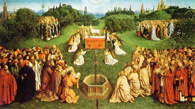 Adorationofthelamb jvaneyck
