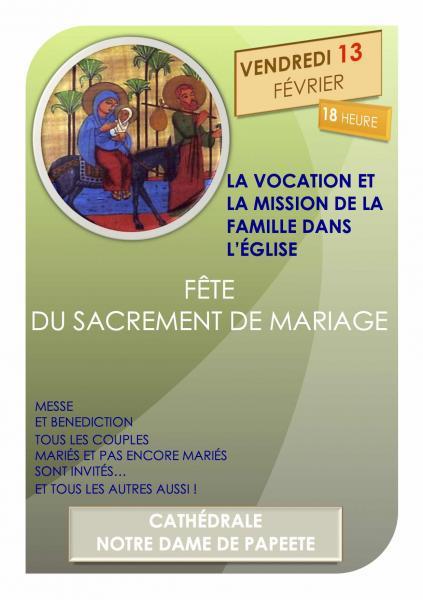 Affiche mariage 2015