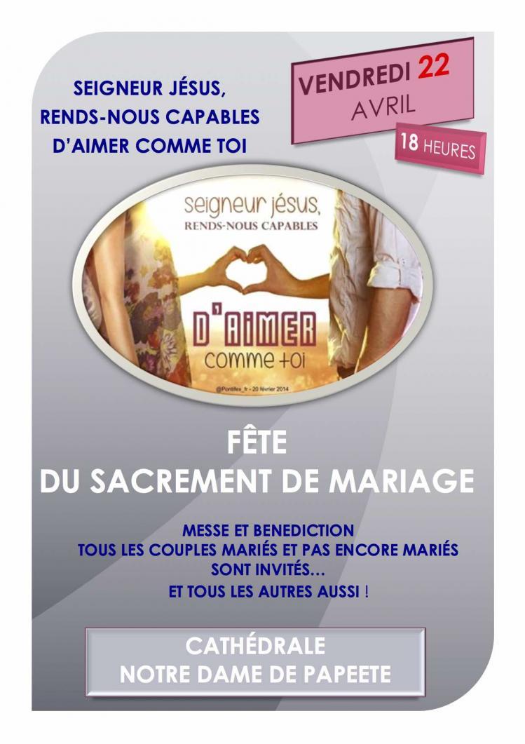 Affiche mariage 2016