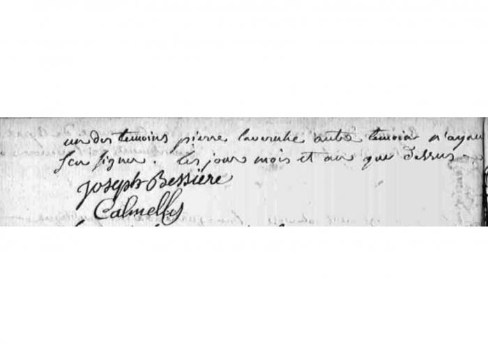 Fr COSTES Fabien - naissance 2