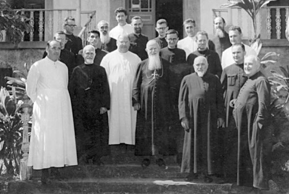 Groupe de pre tres 1963