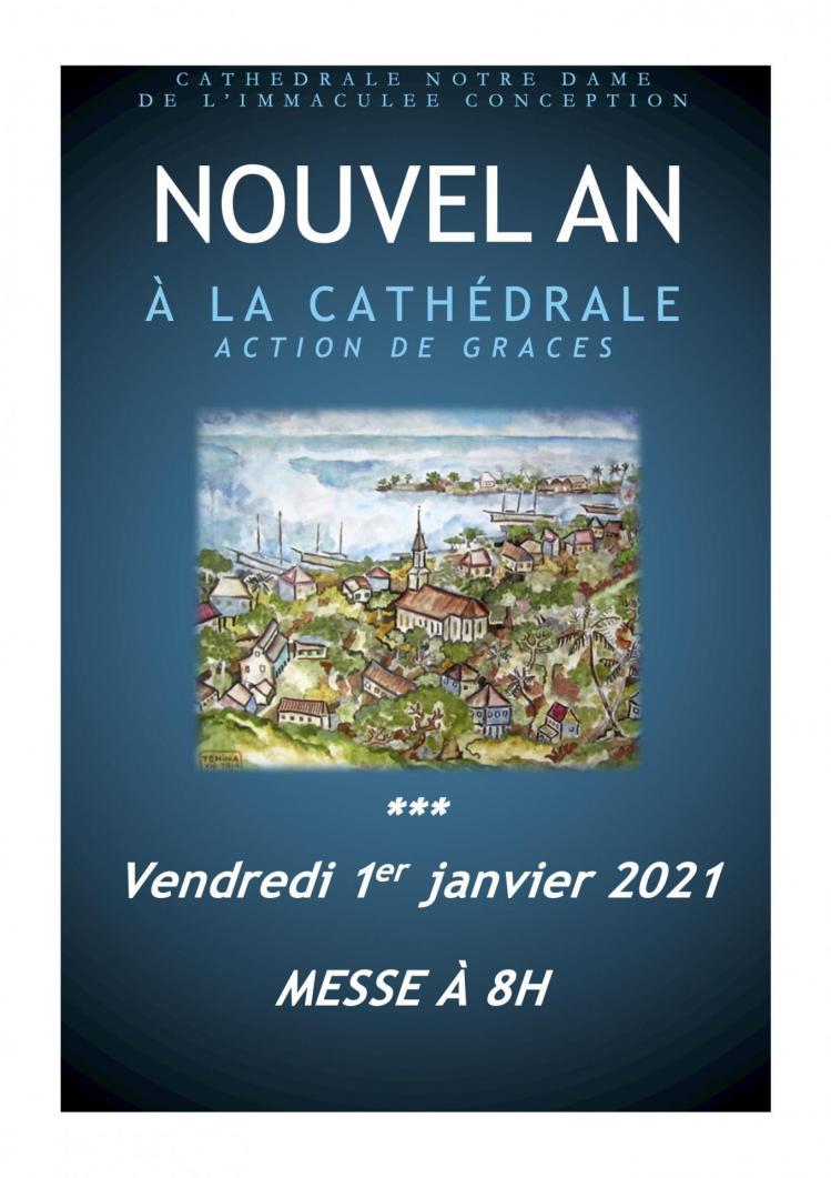 Messe du 1er janvier 2021