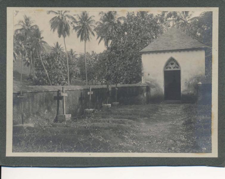Tahiti cimitie re de la mission