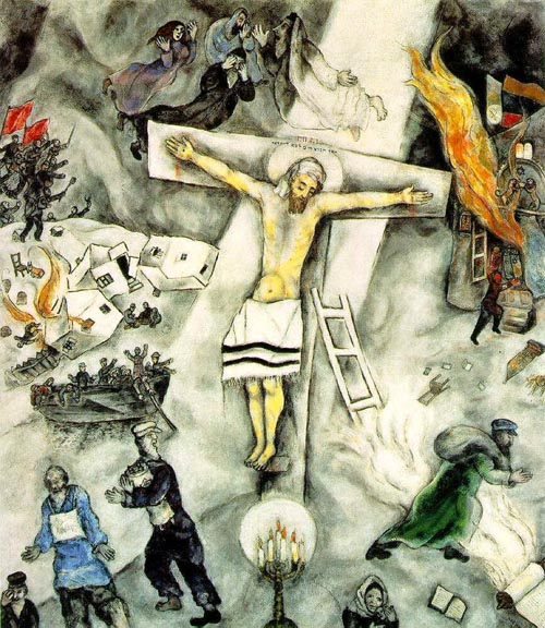 White crucifixion 1