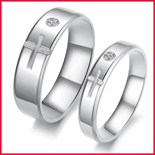 Wholesale stainless steel christian wedding and engagement